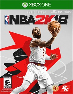 NBA 2K18 Xbox One Box Art