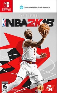 NBA 2K18 Nintendo Switch Box Art