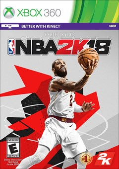 NBA 2K18 Xbox 360 Box Art