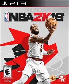 NBA 2K18 PlayStation 3 Box Art