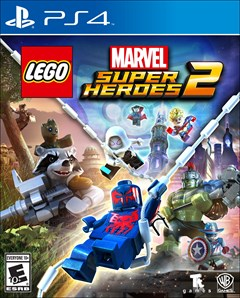 LEGO: Marvel Super Heroes 2 PlayStation 4 Box Art