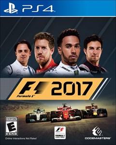 F1 2017 PlayStation 4 Box Art