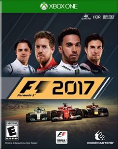 F1 2017 Xbox One Box Art