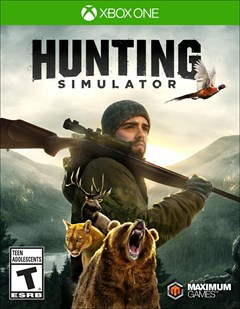 Hunting Simulator Xbox One Box Art