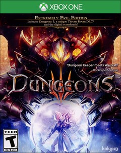 Dungeons 3 Xbox One Box Art
