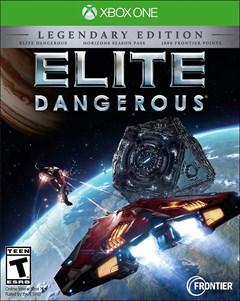 Elite Dangerous: The Legendary Edition Xbox One Box Art