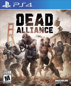 Dead Alliance PlayStation 4 Box Art