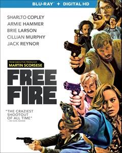 Free Fire Blu-ray Box Art