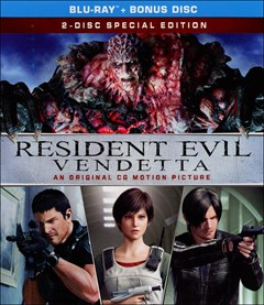 Resident Evil: Vendetta Blu-ray Box Art