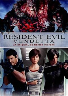 Resident Evil: Vendetta DVD Box Art