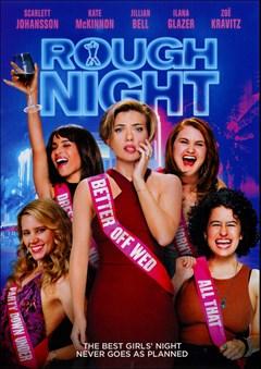 Rough Night DVD Box Art