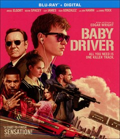 Baby Driver Blu-ray Box Art