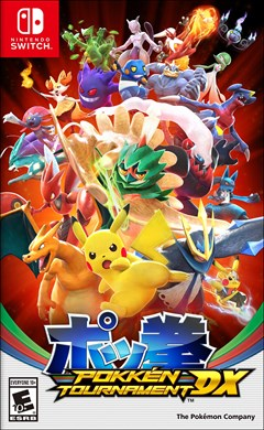 Pokken Tournament DX Nintendo Switch Box Art
