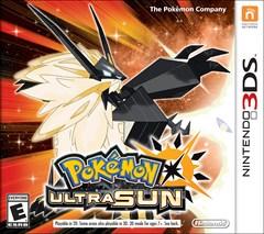 Pokemon Ultra Sun Nintendo 3DS Box Art