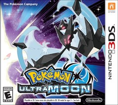 Pokemon Ultra Moon Nintendo 3DS Box Art