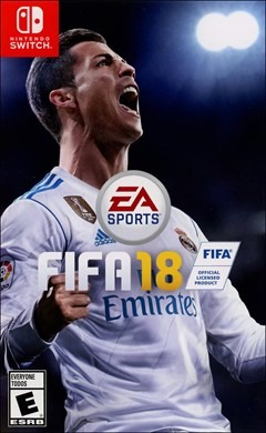 FIFA 18 Nintendo Switch Box Art