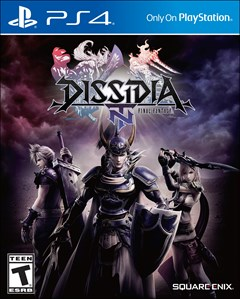 Dissidia Final Fantasy NT PlayStation 4 Box Art