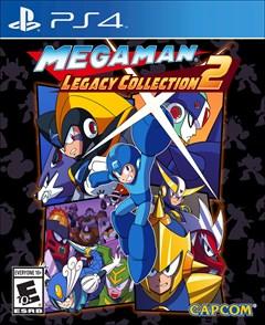 Mega Man Legacy Collection 2 PlayStation 4 Box Art
