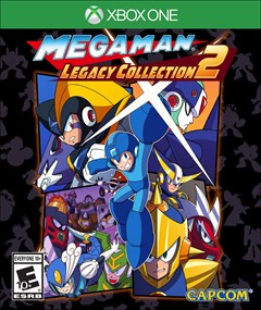 Mega Man Legacy Collection 2 Xbox One Box Art