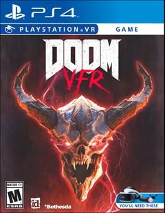 Doom VFR PlayStation 4 Box Art