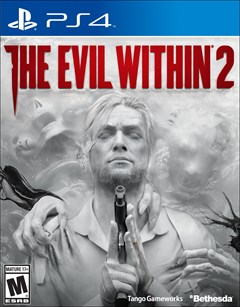 The Evil Within 2 PlayStation 4 Box Art