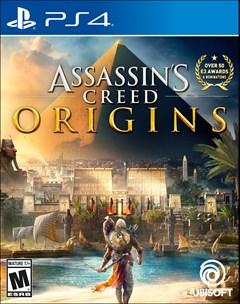 Assassin's Creed: Origins PlayStation 4 Box Art