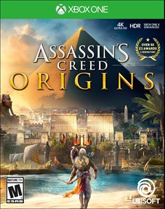 Assassin's Creed: Origins Xbox One Box Art