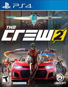 The Crew 2 PlayStation 4 Box Art
