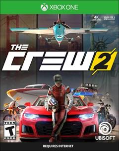 The Crew 2 Xbox One Box Art