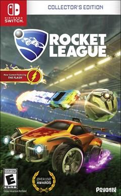 Rocket League: Collector's Edition Nintendo Switch Box Art