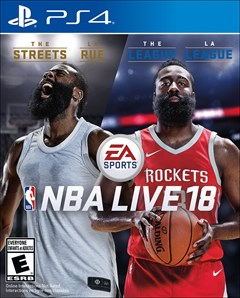 NBA Live 18 PlayStation 4 Box Art