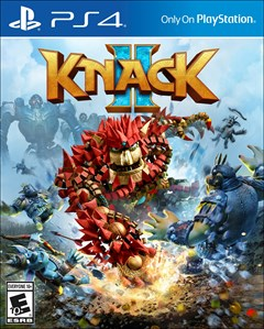 Knack 2 PlayStation 4 Box Art