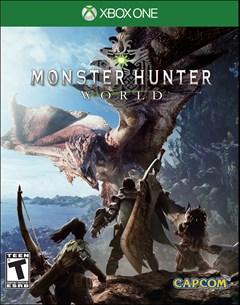 Monster Hunter World Xbox One Box Art