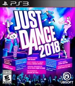 Just Dance 2018 PlayStation 3 Box Art