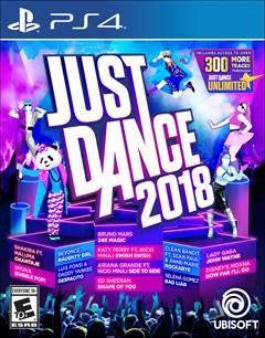 Just Dance 2018 PlayStation 4 Box Art