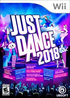 Just Dance 2018 Wii Box Art
