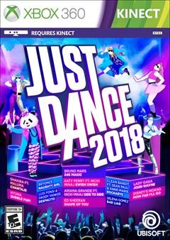Just Dance 2018 Xbox 360 Box Art