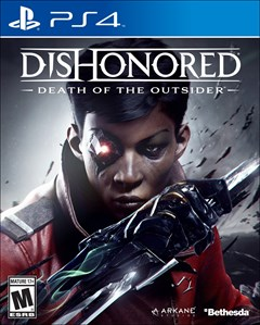 Dishonored: Death of the Outsider PlayStation 4 Box Art