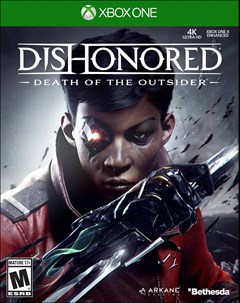 Dishonored: Death of the Outsider Xbox One Box Art