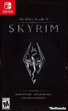 The Elder Scrolls V: Skyrim Nintendo Switch Box Art