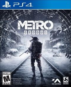 Metro: Exodus PlayStation 4 Box Art