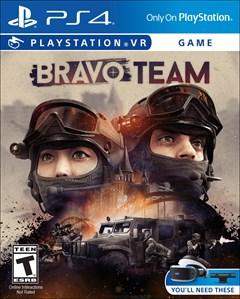 Bravo Team PlayStation 4 Box Art