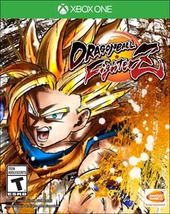 Dragon Ball FighterZ Xbox One Box Art