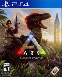 ARK: Survival Evolved PlayStation 4 Box Art