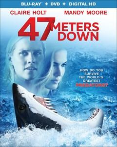 47 Meters Down Blu-ray Box Art