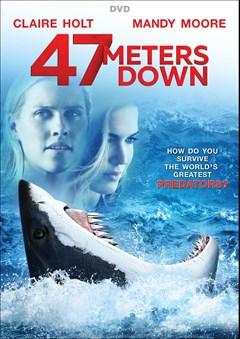 47 Meters Down DVD Box Art