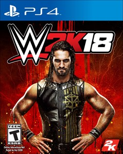 WWE 2K18 PlayStation 4 Box Art