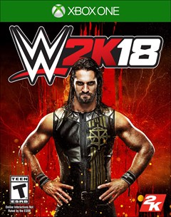 WWE 2K18 Xbox One Box Art