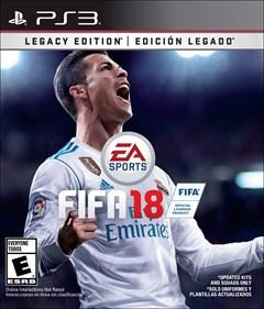 FIFA 18 PlayStation 3 Box Art