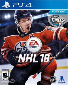 NHL 18 PlayStation 4 Box Art